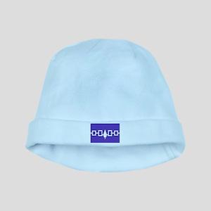 Iroquois Wampum Belt baby hat