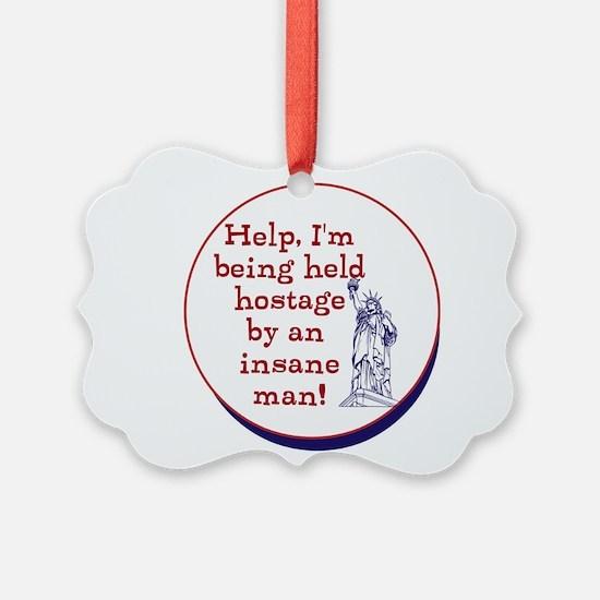 Help! America being held hostage by insane clown O