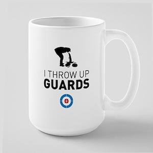 I throw up guards Mugs