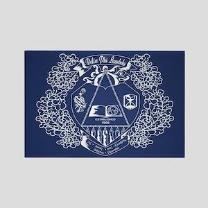 Delta Phi Lambda Crest Rectangle Magnet