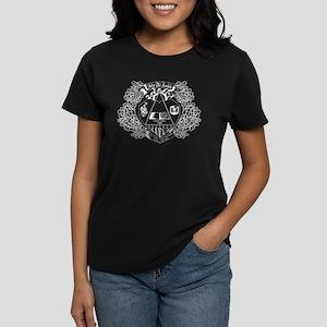 Delta Phi Lambda Crest Women's Dark T-Shirt