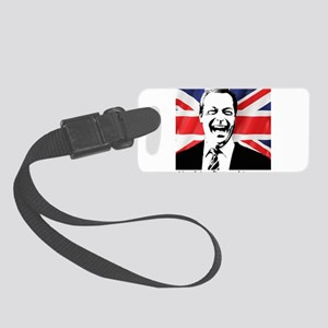 Nigel for Prime Minister Small Luggage Tag