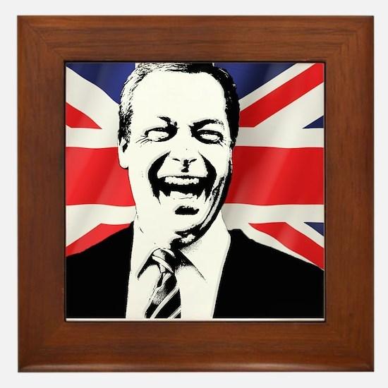 Cute Prime minister Framed Tile