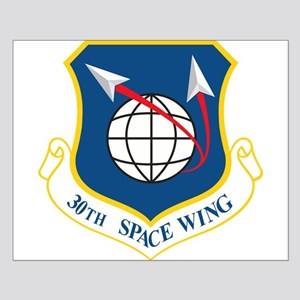 30th Space Wing Small Poster