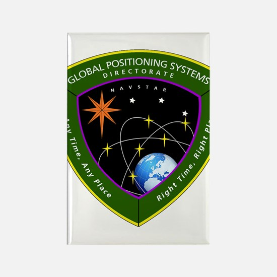 GPS Directorate Rectangle Magnet