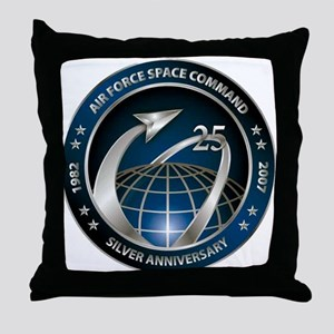 Space Command @ 25! Throw Pillow