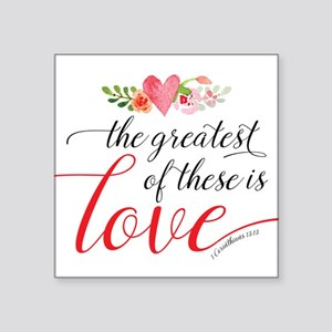 Greatest Love Sticker