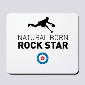 Natural born rock star Mousepad