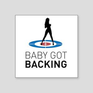 Baby got backing Sticker