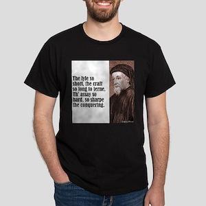 """Chaucer """"Lyfe So Short"""" T-Shirt"""