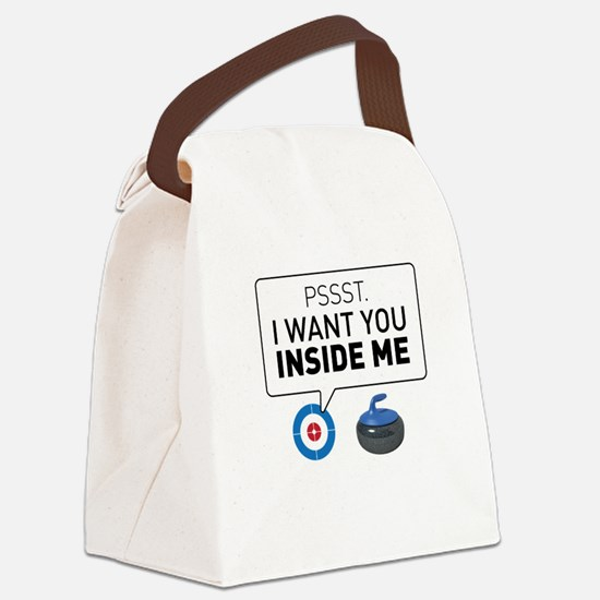 I want you inside me Canvas Lunch Bag