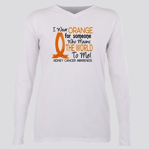 Means World To Me 1 Kidney Cancer T-Shirt