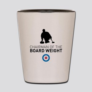 Chairman of the board weight Shot Glass