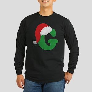 G santa hat Long Sleeve T-Shirt