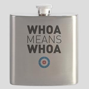 Whoa means whoa Flask