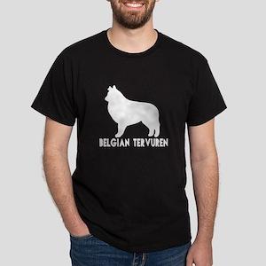 Belgian Tervuren Dog Designs Dark T-Shirt