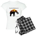 I Love Elephants Pajamas