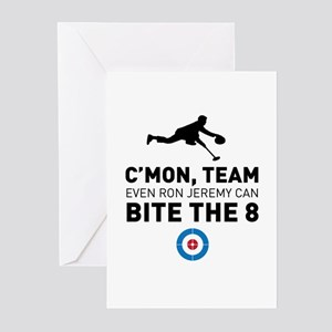 Bite the 8 Greeting Cards