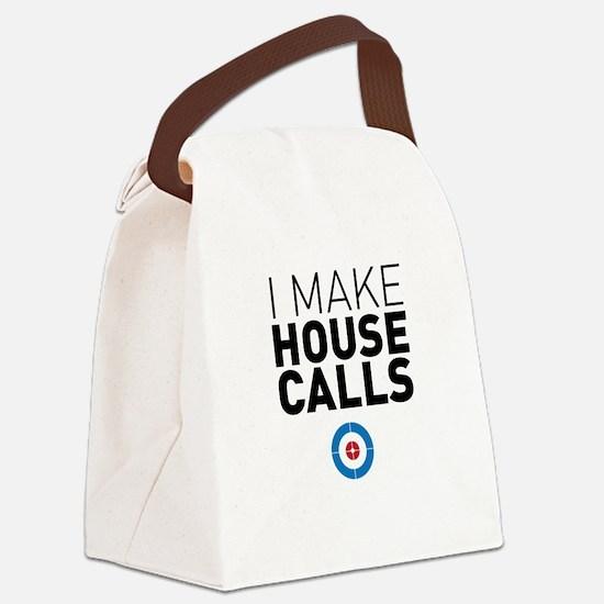 Unique Team usa curling Canvas Lunch Bag