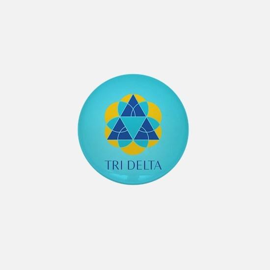 Delta Delta Delta Logo Mini Button