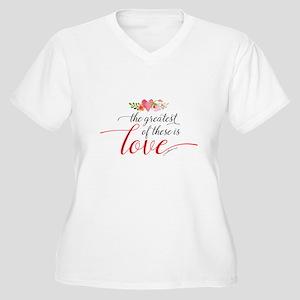 Greatest Love Plus Size T-Shirt