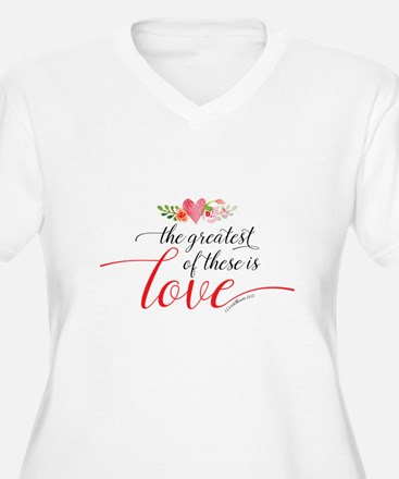 Greatest Love Plus Size T-Shirt