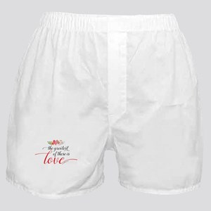 Greatest Love Boxer Shorts