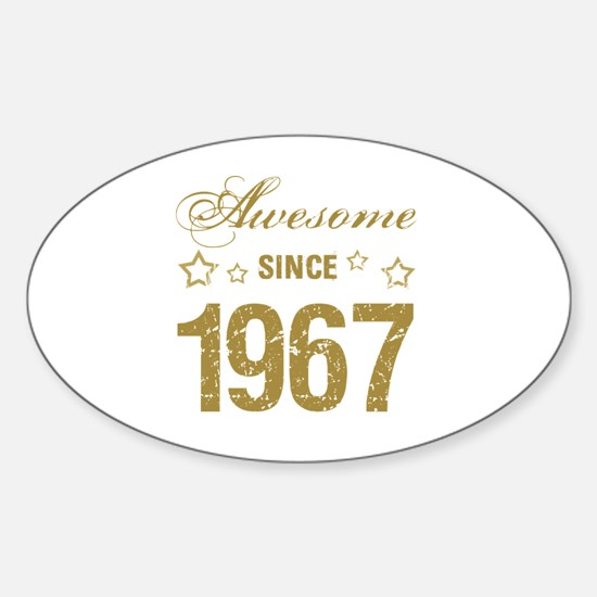 Cool 50th gag women Sticker (Oval)