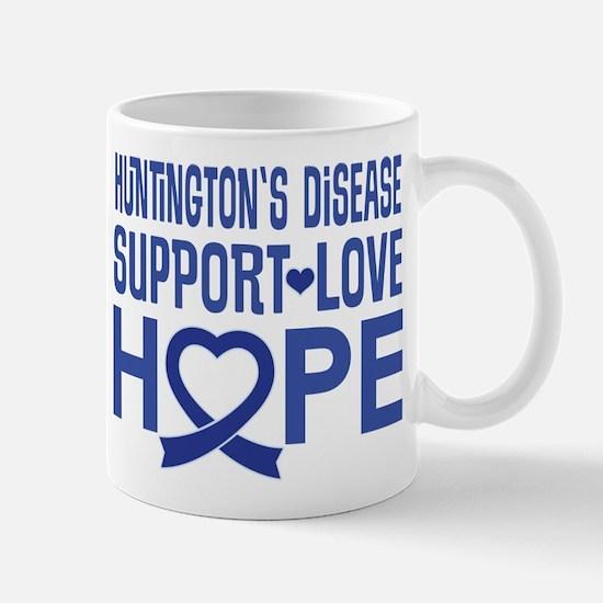 Huntington's Disease Support Ribbon Mugs