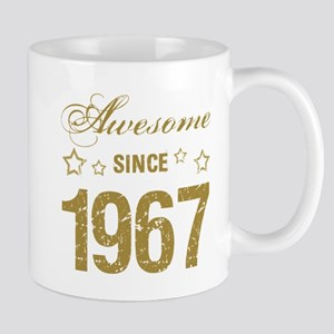 Awesome Since 1967 Mugs