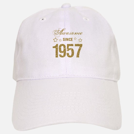 Awesome Since 1957 Baseball Baseball Cap