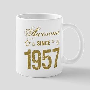 Awesome Since 1957 Mugs