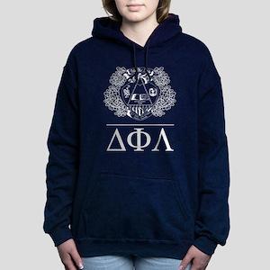 Delta Phi Lambda Crest L Women's Hooded Sweatshirt