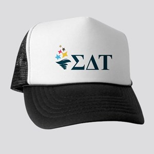 Sigma Delta Tau Greek Letters Trucker Hat