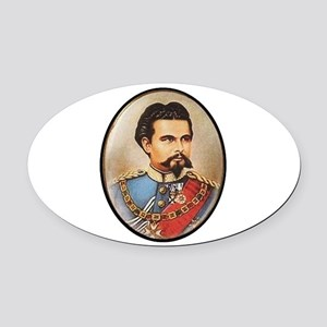 LUDWIG Oval Car Magnet
