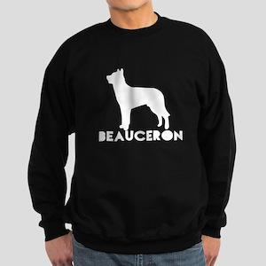 Beauceron Dog Designs Sweatshirt (dark)