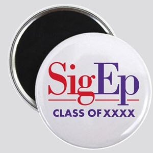 SigEp Class of XXXX Personalized Magnet