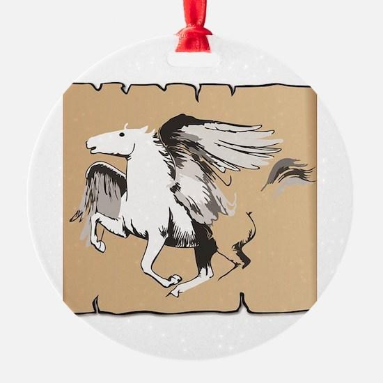 Unique Ride mare Ornament