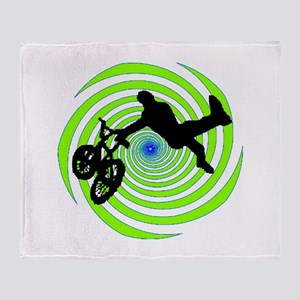BMX Throw Blanket