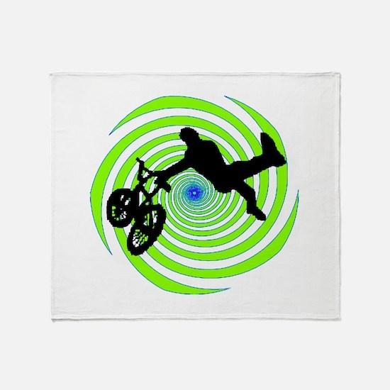 BMX Throw Blanket