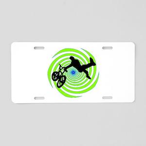 BMX Aluminum License Plate