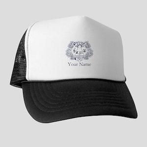 Delta Phi Lambda Crest Personalized Trucker Hat