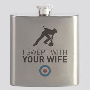 I swept with your wife Flask