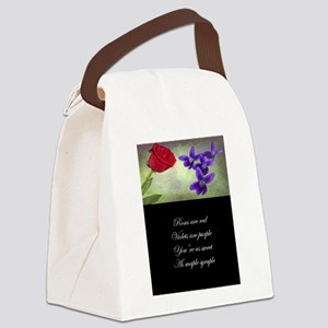 Sweet as Maple Syruple Canvas Lunch Bag