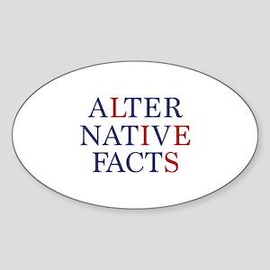 Alternative Facts Sticker (Oval)