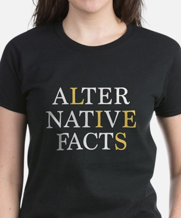 Alternative Facts Women's Dark T-Shirt