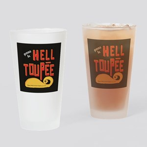 hell toupee Drinking Glass