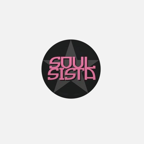 Soul Sista Mini Button