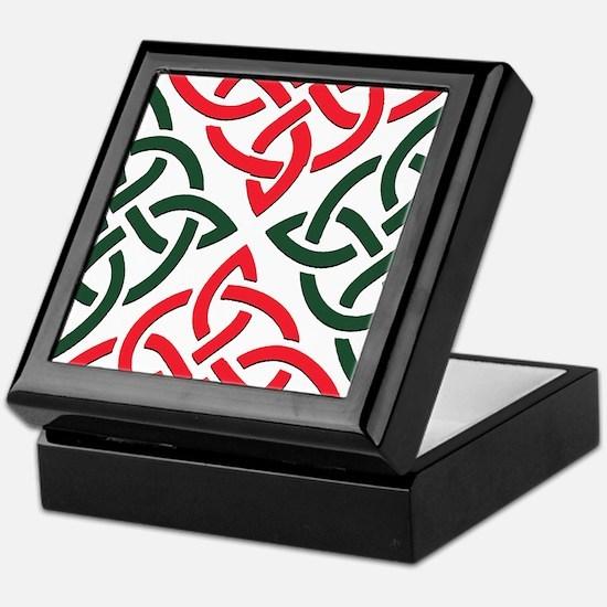 Christmas Trinity Knot Keepsake Box