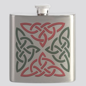 Christmas Trinity Knot Flask